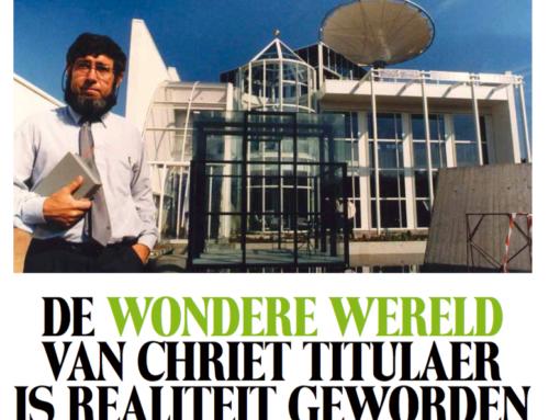 Artikel Tijdschrift voor Marketing: 'De wondere wereld van Chriet Titulaer is realiteit geworden