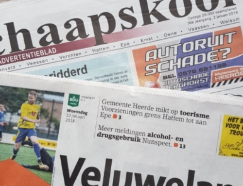 Huis-aan-huis bladen naast Google en Facebook – column Paul Postma