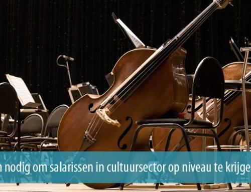 €90 miljoen nodig om salarissen in cultuursector op niveau te krijgen